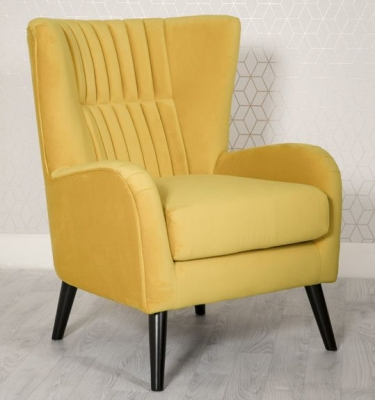 Excellent Brook Ochre Accent Chair Ibusinesslaw Wood Chair Design Ideas Ibusinesslaworg