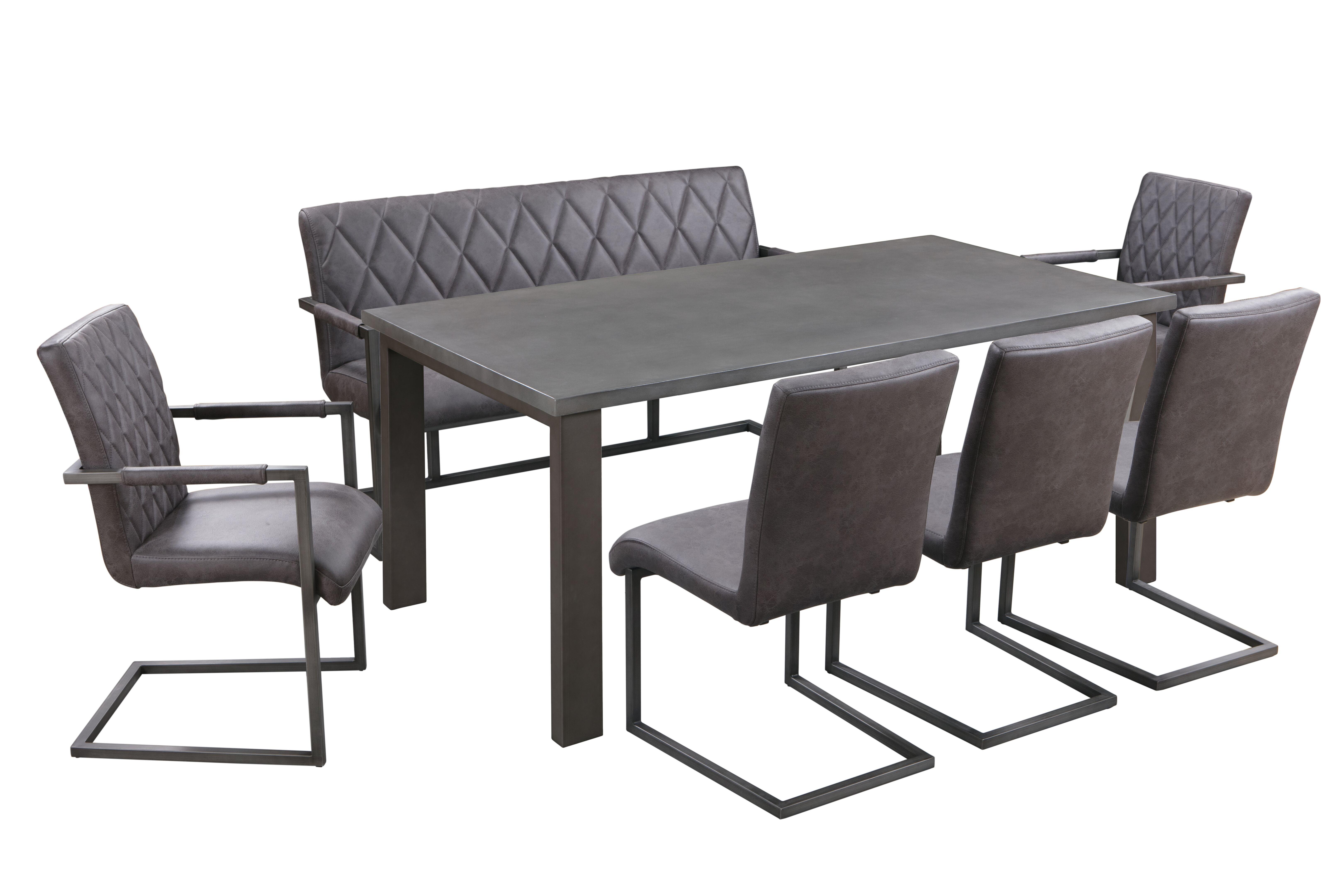 Concrete Rectangular Dining Table Top
